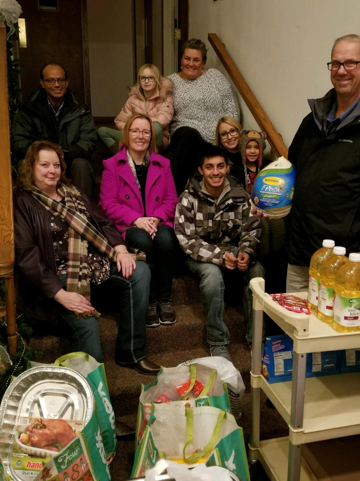 Giving Back - Thanksgiving Meals
